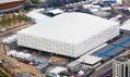 Dočasná basketbalová aréna pro olympijské hry v Londýně 2012