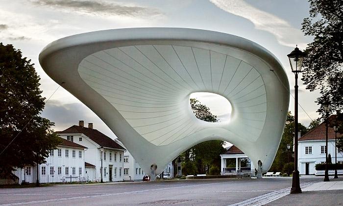 Nej současná norská architektura vystavena vGJF