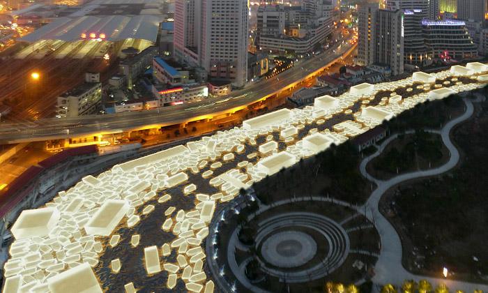 Čeští architekti vyhráli soutěž opodobu řeky vČíně