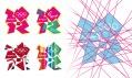 Olympijské logo a další grafické prvky pro Londýn 2012