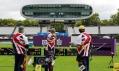 Lord's Cricket Ground v Londýně jako hřiště pro lukostřelbu