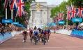 The Mall jako cílová rovinka před Buckingham Palace