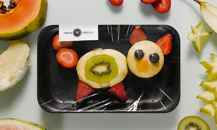 Fresh'n'Friends prodává hravě poskládané ovoce