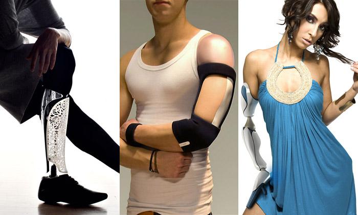 Moderní protézy mohou být umělecká díla išperk