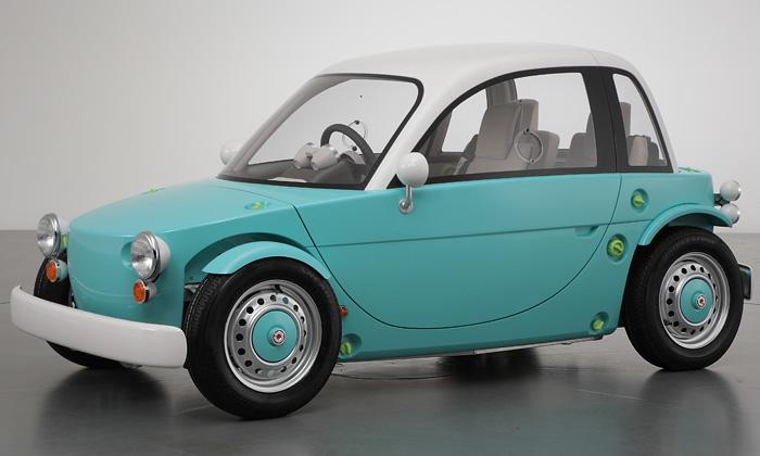 Toyota Camatte jemalé auto určené křízení dětmi