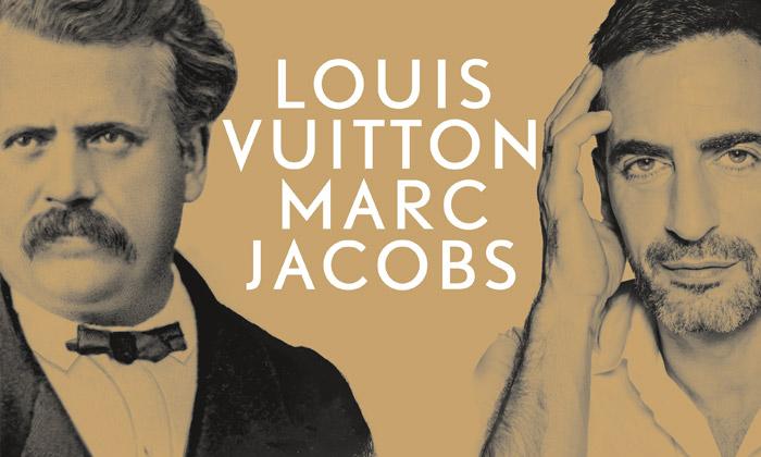 Plakát k pařížské výstavě Louis Vuitton - Marc Jacobs