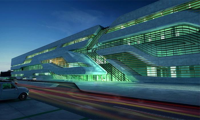 Budova Pierres Vives odHadid inspirována stromem