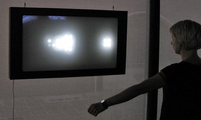 Kroměřížská výstava Actis Effector jeplná světel