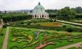 Rotunda v Květné zahradě jakožto dějiště výstavy
