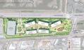 Plány Franka Gehryho a Marka Zuckerberga na nové kanceláře Facebooku