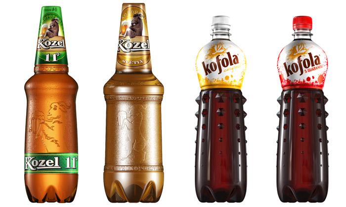 Jan Čapek vytvořil stylové láhve pro Kozla iKofolu