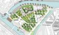 Projekt Caenhattan od JDS pro ostrov ve francouzském městě Caen