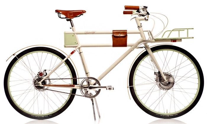 Faraday jestylové jízdní kolo poháněné ielektricky