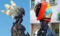 Umělecký projekt Hatwalk zdobící sochy Londýna