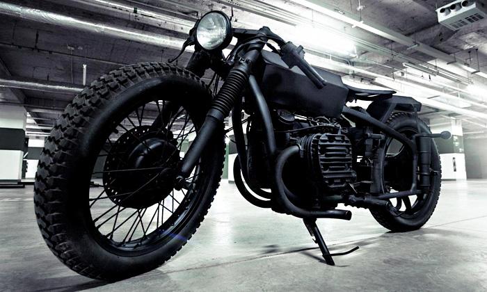Bandit9 udělali ze staré čínské motorky nové Nero