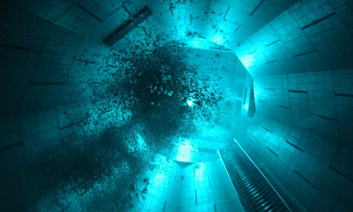 Nemo33 jenejhlubší bazén napotápění nasvětě