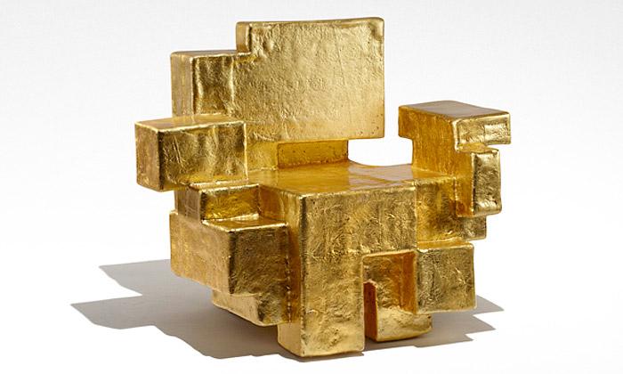 Nucleo navrhuje sošný nábytek zkrystalů ize zlata