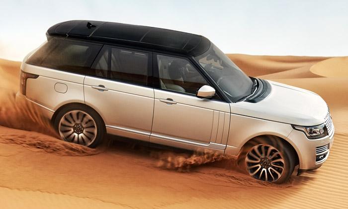 Range Rover čtvrté generace jedynamičtější alehčí