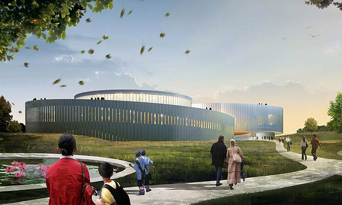 Čína staví velké Samaranchovo olympijské muzeum