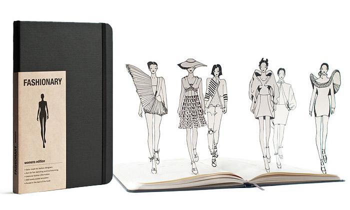Fashionary jespeciální skicář pro módní návrháře