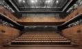 Wuxi Grand Theatre v čínském městě Wuxi v provincii Ťiang-su od PES-Architects