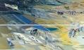 Ukázka z výstavy zaha Hadid s podtitulem Beyond Boundaries, Art and Design