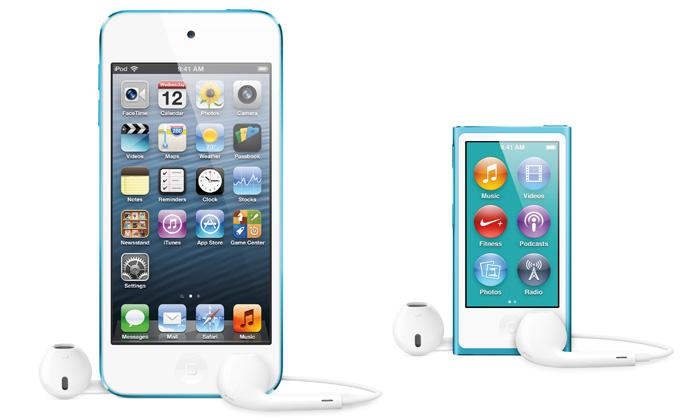Apple má nové přehrávače iPod touch aiPod nano