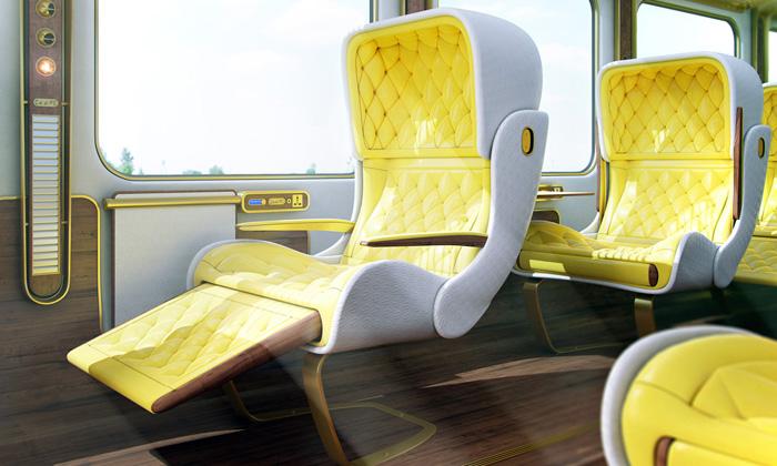 Christopher Jenner navrhl interiér vlakům Eurostar