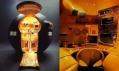Luigi Colani a ukázka průřezu jeho tvorbou