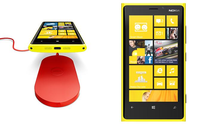 Mobilní telefon nokia lumia 920 se systémem windows phone 8