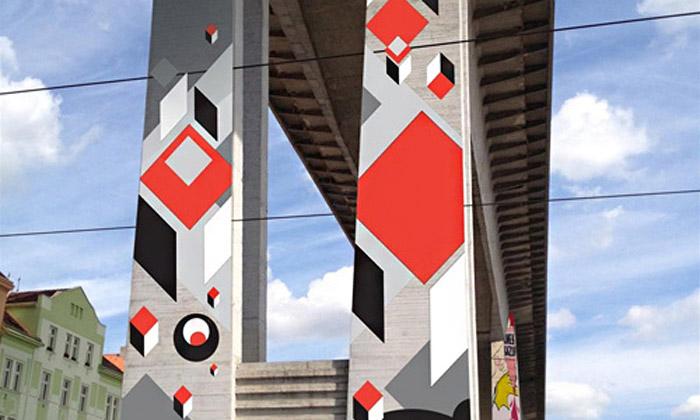 Nuselský most by semohl proměnit vGraffiti Bridge
