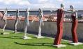 Výstava soch Olbrama Zoubka vzahradách Bastionu uBožích muk naPraze 2