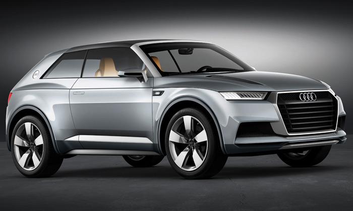 Audi Crossline Coupé jestylový hybridní crossover