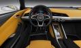 Koncept vozu Audi Crossline Coupé