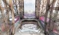 Návrh rekonstrukce Eiffelovy věže odMoatti-Rivière