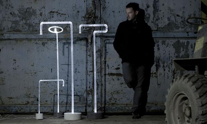 Light Ray jekolekce světel zprůhledného betonu