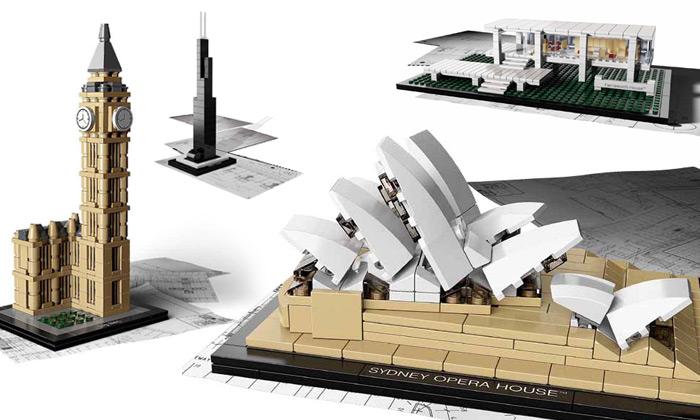 Lego Architecture dělá zmenšeniny známých staveb