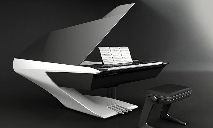 Peugeot navrhl koncept moderního piana pro Pleyel