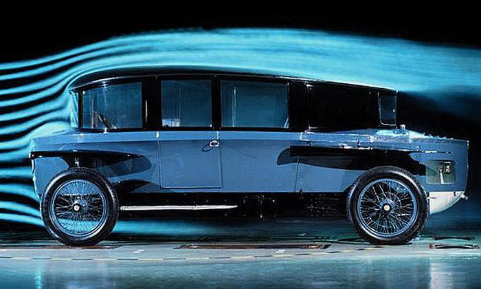 Rumpler Tropfenwagen jeaerodynamická legenda
