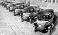 Rumpler Tropfenwagen na historických záběrech