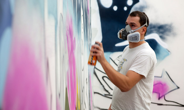 Městem posedlí vystavují graffiti istreet art vGHMP