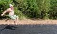 Trampolína na ruském Archstoyanie jako Fast Track od Salto