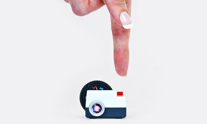 Projecteo jemalinká promítačka fotek zInstagramu