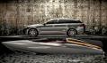 Nový vůz XF Sportbrake akoncept člunu Speedboat