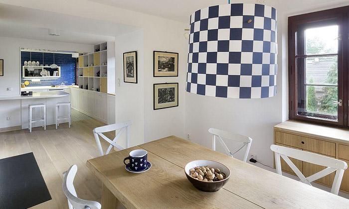 A1 Architects zrekonstruovali starý německý dům