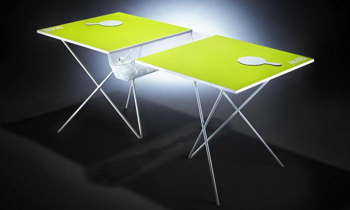 M48 a jejich designová kolekce stolů na ping-pong