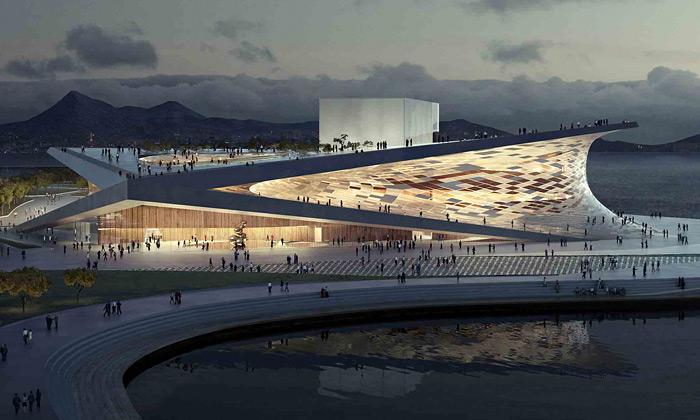 Snøhetta postaví vBusanu moderní budovu opery
