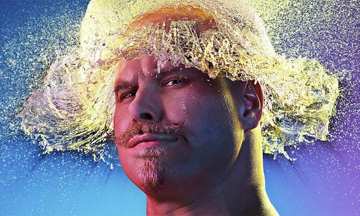 Tim Tadder nafotil portréty lidí svodními parukami