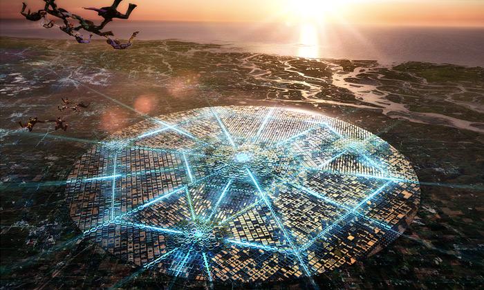 Free City jemoderní kulaté město pro 21.století