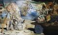Ukázka z výstavy Salvador Dalí v Centre Pompidou v Paříži